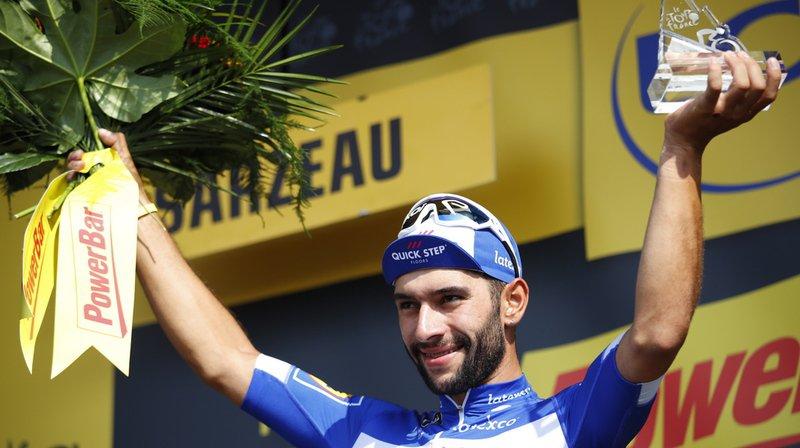 À 23 ans, Gaviria a signé son neuvième succès de la saison et surtout son deuxième succès depuis le départ du Tour.
