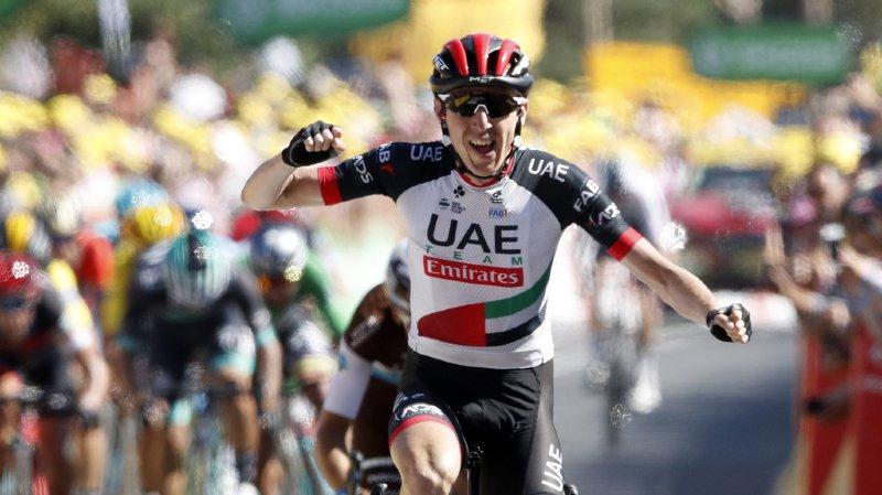 Cyclisme - Tour de France: l'Irlandais Dan Martin remporte en solitaire la 6e étape à Mûr-de-Bretagne