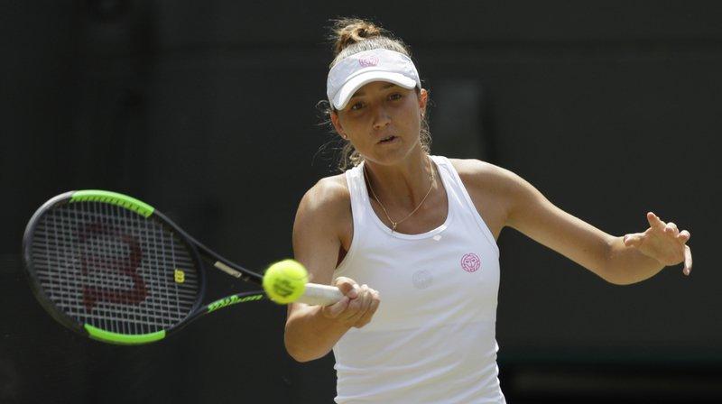 Tennis - Gstaad: Leonie Küng perd son premier match sur le circuit WTA