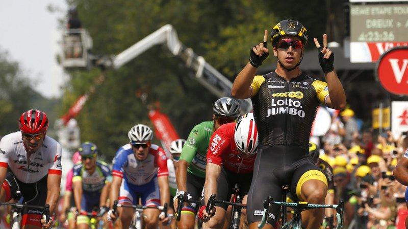 Tour de France: Groenewegen double la mise et remporte la huitième étape