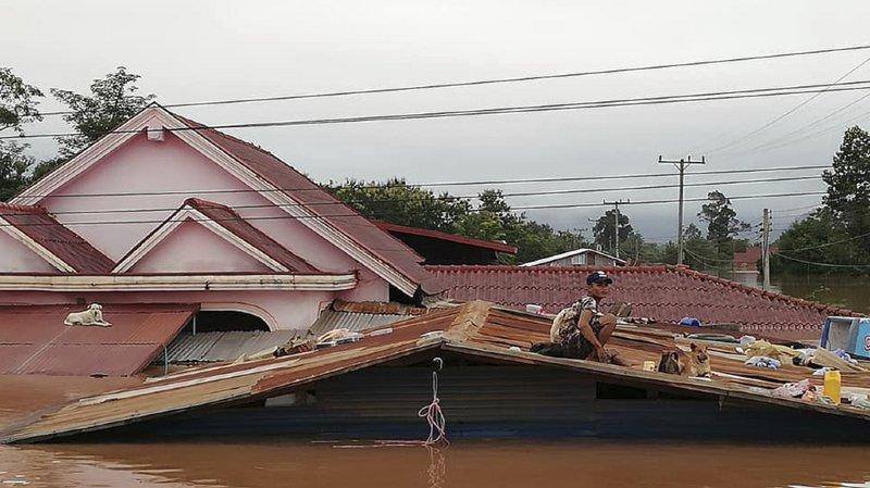 Laos: l'effondrement d'un barrage fait au moins 26 morts