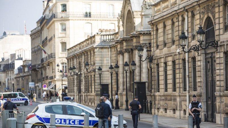 Ce mercredi après-midi, une perquisition était en cours à l'Élysée, dans le bureau d'Alexandre Benalla.