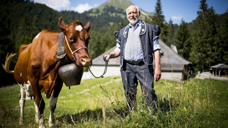 Raoul Colliard, un armailli qui en connaît un bout sur la Fête des vignerons
