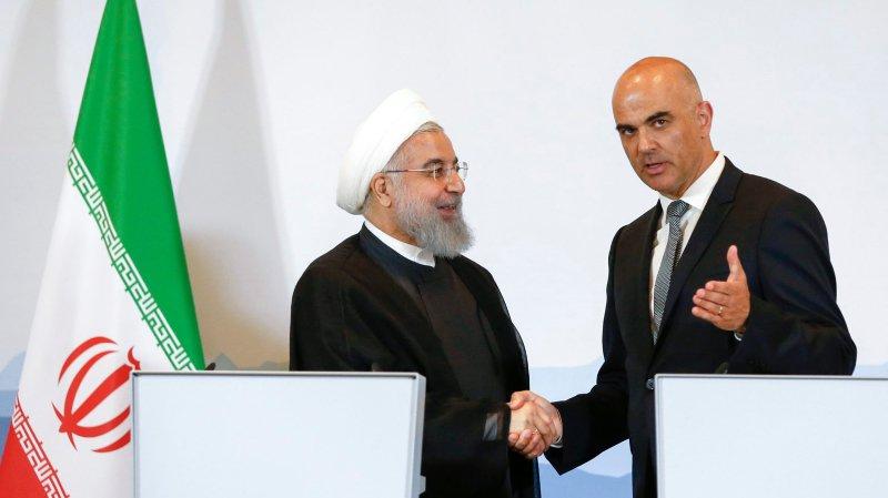 Accord nucléaire: la Suisse aux côtés de l'Iran