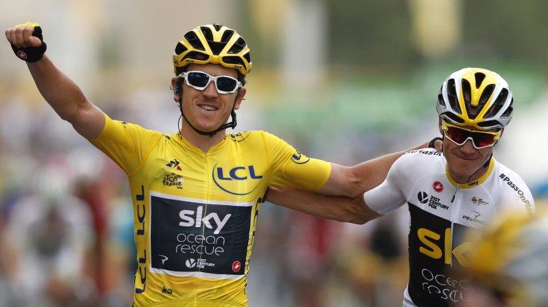 Geraint Thomas offre  un nouveau Tour de France à la Sky