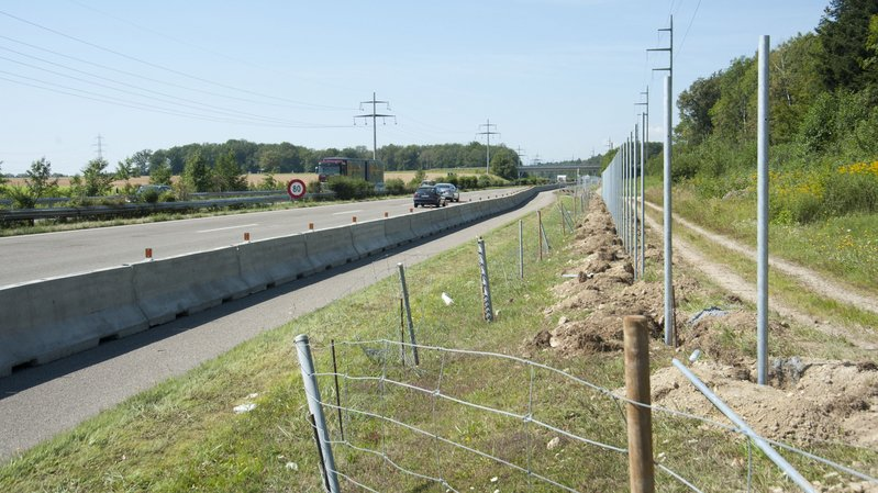 L'autoroute à hauteur de Coppet (image d'illustration)