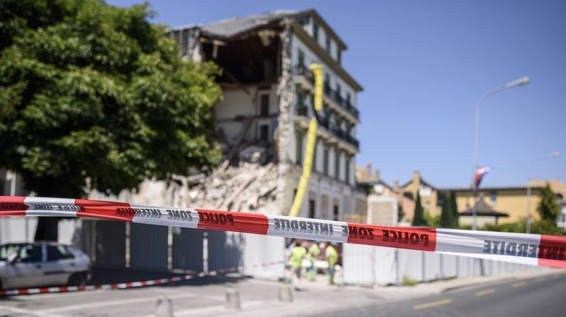 Hôtel Beau-Rivage: le Canton répond aux attaques