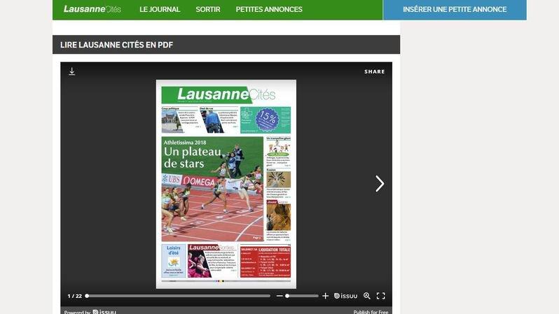 """La ville de Lausanne va soutenir """"Lausanne Cités"""""""