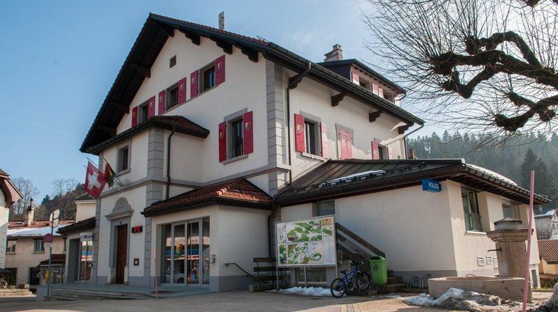 La maison de commune à Saint-Cergue.
