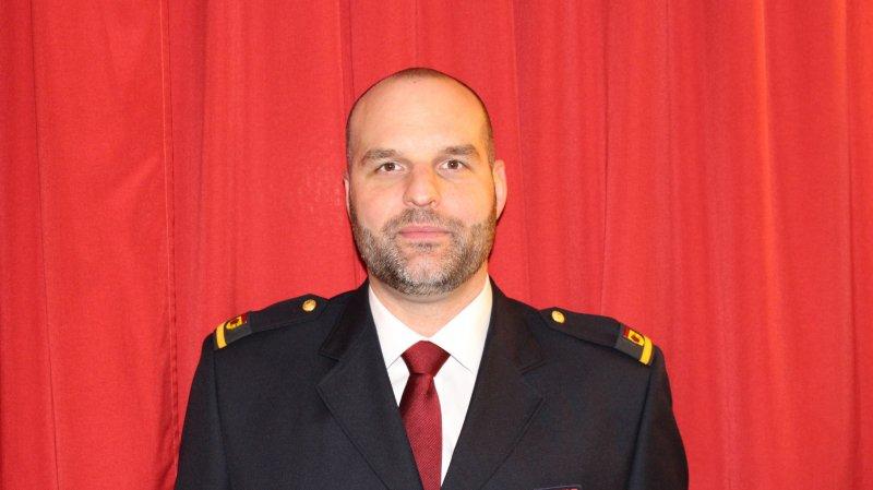Thierry Charrey reprendra le commandement du SIS Morget