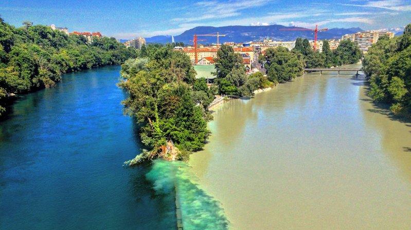 Genève: un jeune touriste colombien se noie dans le Rhône