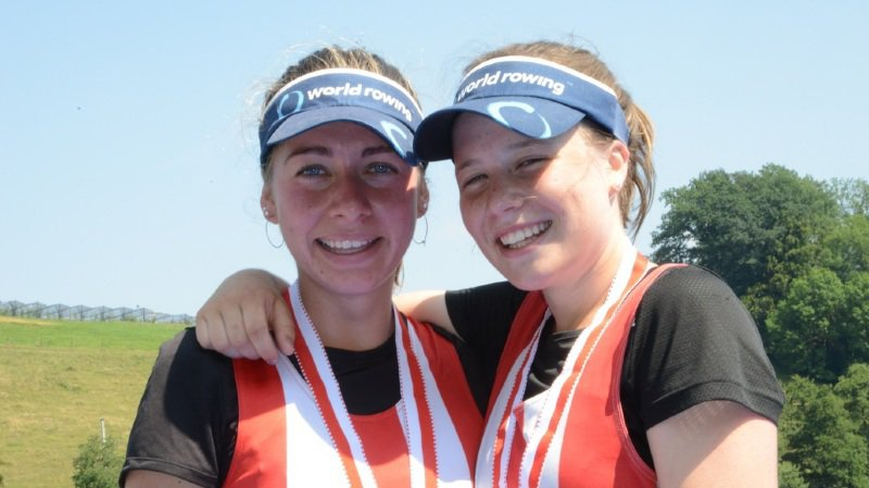 Aviron: Thalia Ahumada et Agnès White sont Championnes suisses