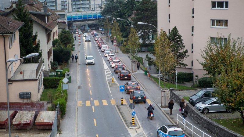 L'avenue sera fermée à la circulation pour des travaux.