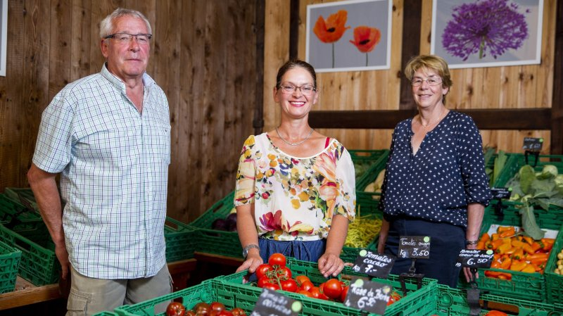 Après 25 ans à la tête du Marché paysan d'Apples, les époux Meldem tirent leur révérence