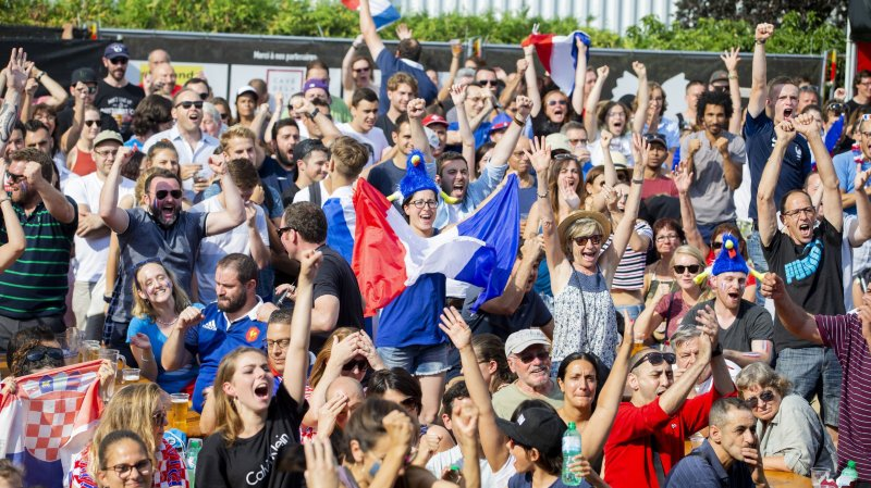 Nyon: la fan zone de Pomodoro a connu un joli succès