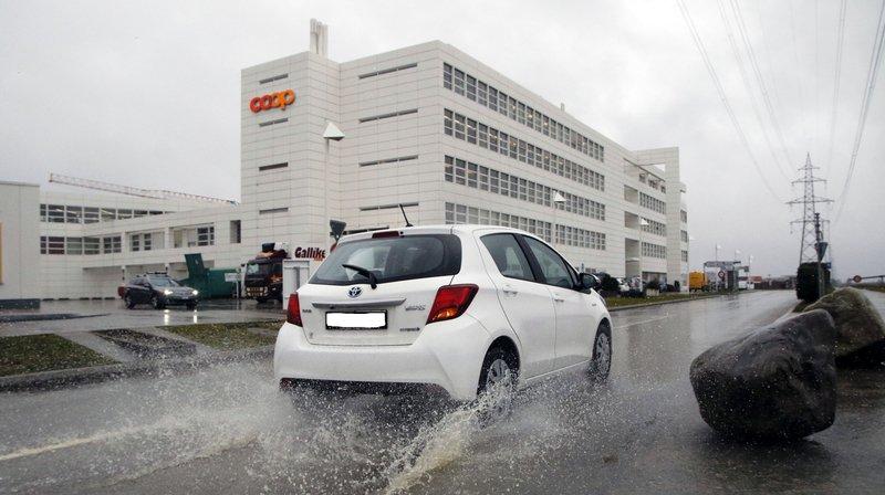 Le centre commercial de Signy ne sera utilisé qu'en cas d'activation du plan pluie de Paléo.