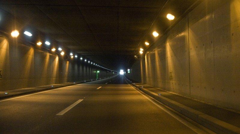 L'homme a été intercepté après avoir été repéré par la surveillance des tunnels à hauteur de Saint-Maurice.