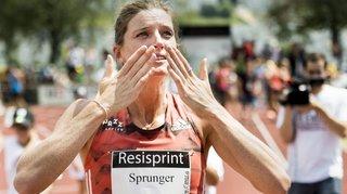 Lea Sprunger pulvérise son record de Suisse du 400 m plat à La Chaux-de-Fonds