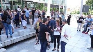 Médias: une centaine d'employés de Tamedia en grève