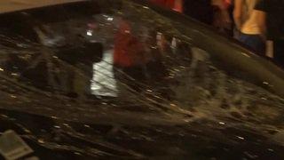 Affrontements entre des supporters parisiens et la police
