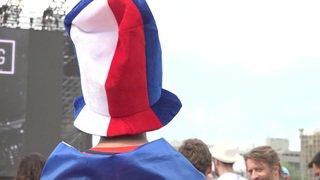 France - Croatie: bonne ambiance à Genève