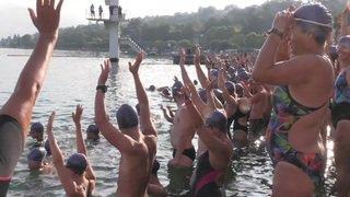 La traversée du lac attire 1000 participants