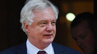 Brexit: le secrétaire britannique David Davis a démissionné dimanche