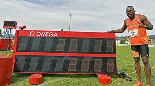 Athlétisme: Alex Wilson fait tomber le record de Suisse sur 200m