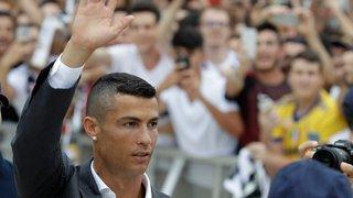 La Juventus et Turin accueillent Cristiano Ronaldo