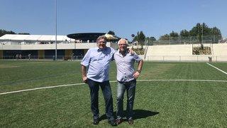 Lonay: on a inauguré le nouveau centre sportif