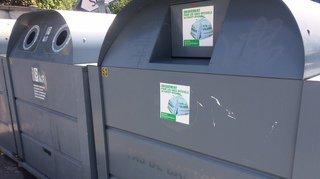 Trois conteneurs en centre-ville pour les Nyonnais qui ont trop de sacs blancs