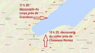 Lac de Neuchâtel: un navigateur retrouvé mort près de Grandson