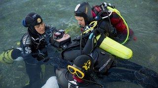 Saint-Prex: quand la plongée fait oublier le handicap