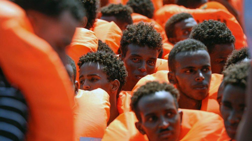 Vendredi, l'«Aquarius» a sauvé 141 migrants en détresse en Méditerranée. Reste à trouver un port d'accueil.