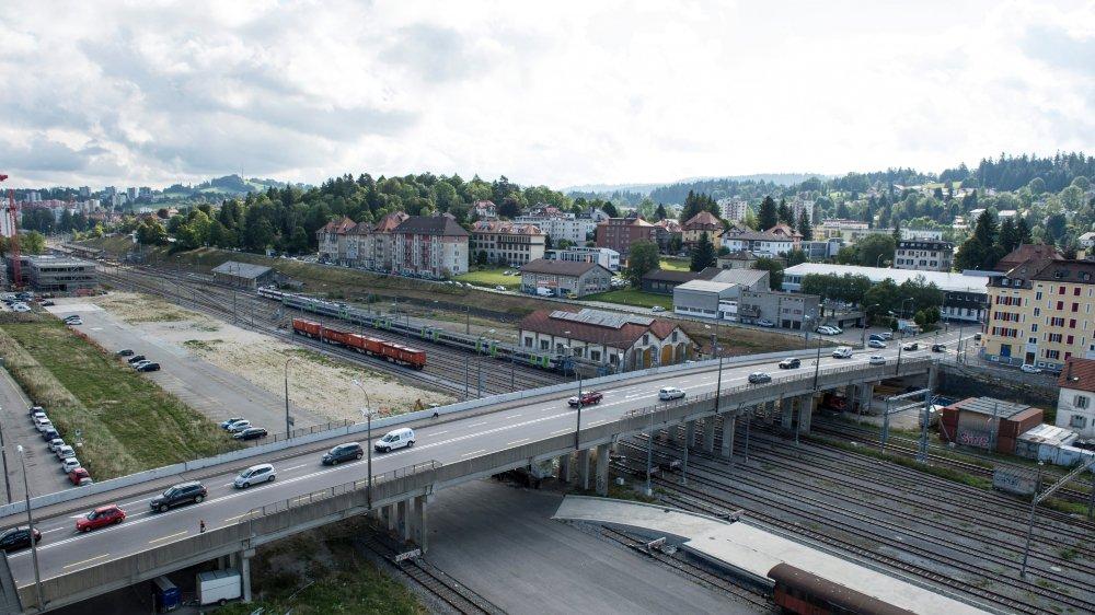 Emprunté chaque jour par près de 11000 véhicules, le Grand Pont, à La Chaux-de-Fonds, sera reconstruit.