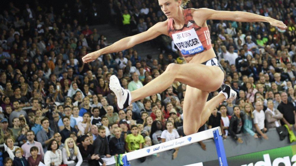 Seulement 6e de sa dernière course de la saison, Lea Sprunger a toutefois remporté haut la main le concours de l'applaudimètre.
