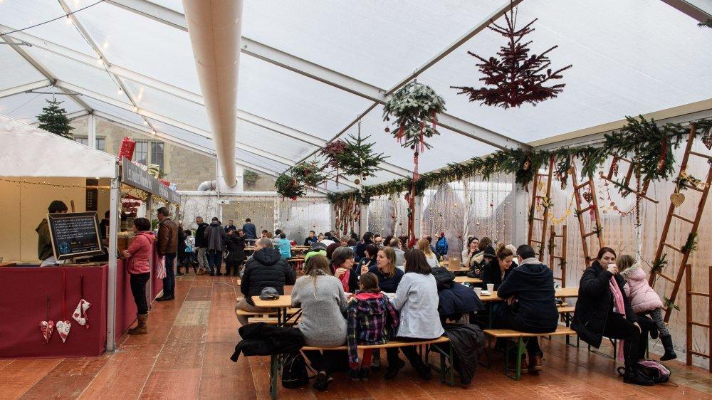 Un soutien est par exemple apporté au marché de Noël organisé dans l'enceinte du château de Morges.
