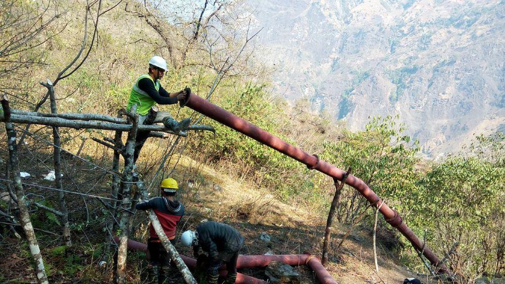Selon l'association, le chantier a été mené à bien en un temps record.