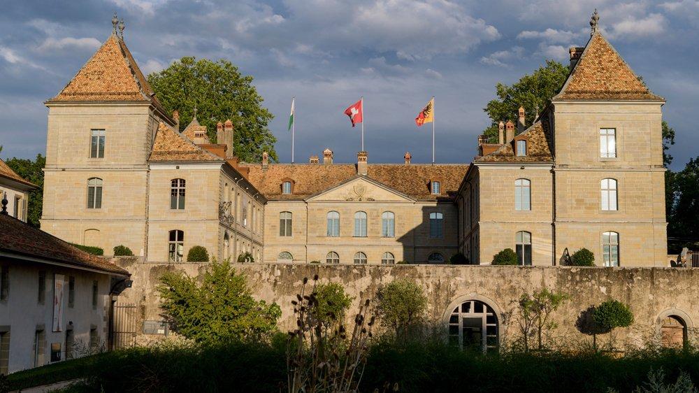 Le château de Prangins.