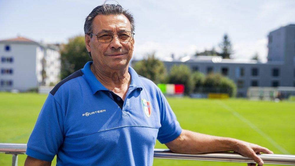 Giovanni Alessandro, président du FC Italia Nyon, tient à rassurer malgré les difficultés que rencontre son club.