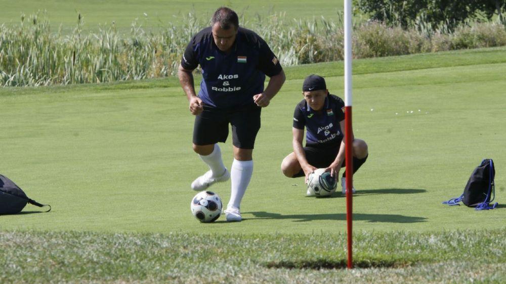Outre de nombreux candidats suisses, le Swiss Footgolf Trophy du Signal de Bougy attire également des participants étrangers.