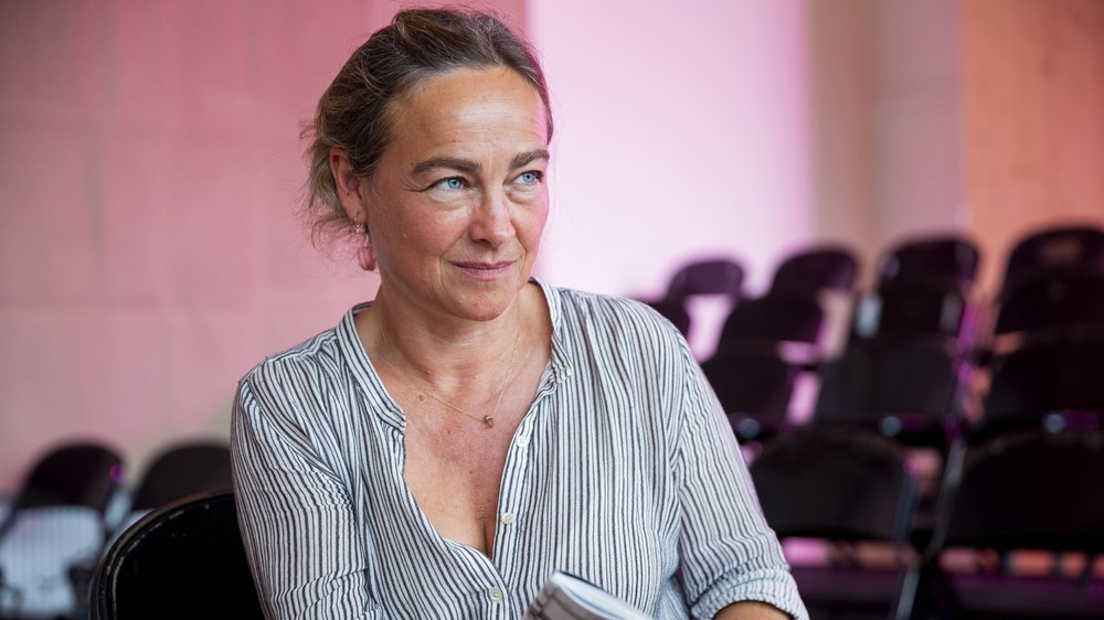 """""""Grâce à ce déménagement, le festival est encore plus ancré à Nyon"""", explique Véronique Ferrero-Delacoste, directrice du far°."""