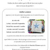 Atelier Couture - La compagnie des quartiers