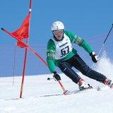 Course à skis pour les hôtes