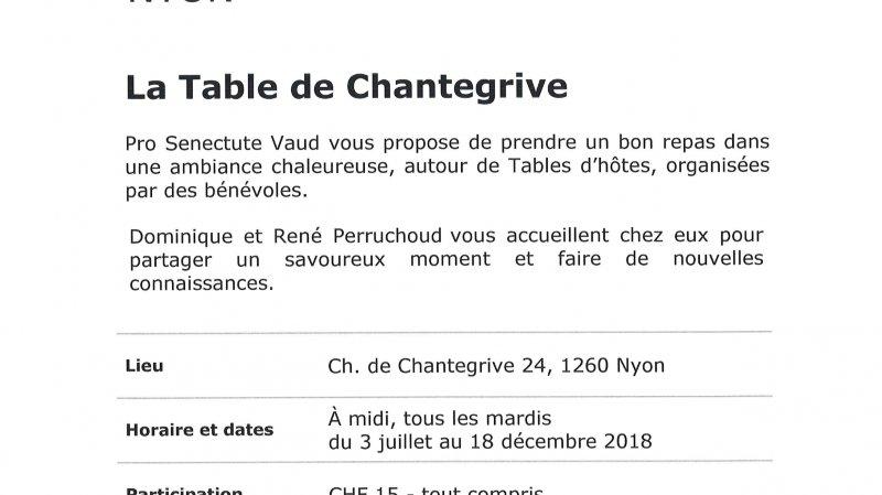 Table d'hôtes - La Table de Chantegrive