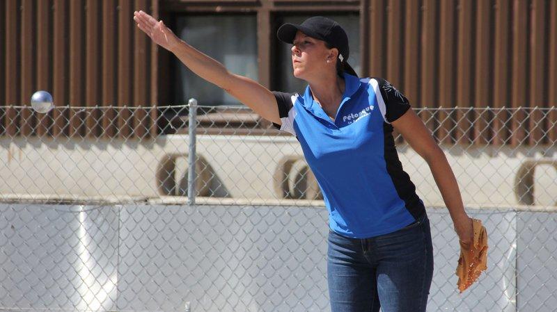 Sonia Stalder s'est imposée 13-9 en finale de la catégorie tête-à-tête dames.