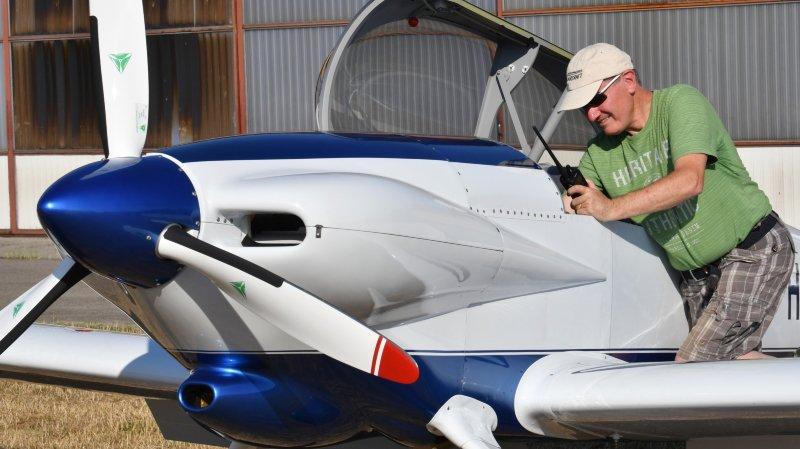 Il lui aura fallu 4000 heures et 13000 rivets pour construire son propre avion