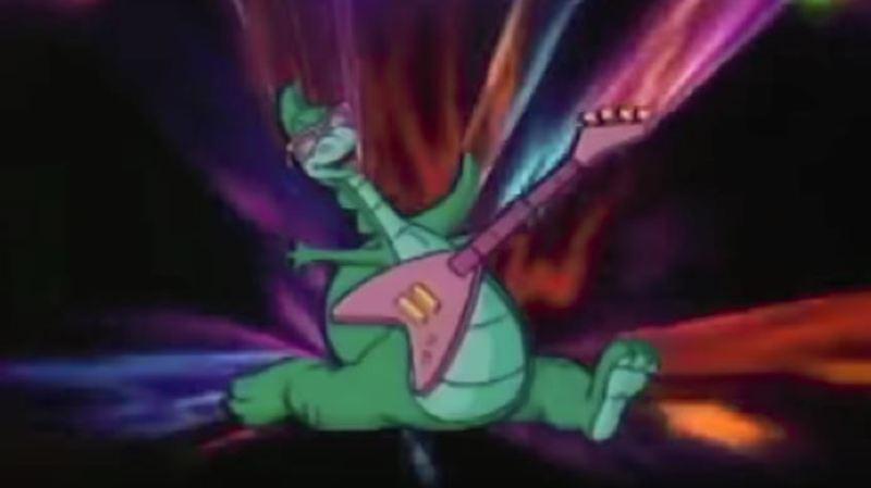 Le dinosaure culte est de retour, mais il ne ressemble plus vraiment à ça...