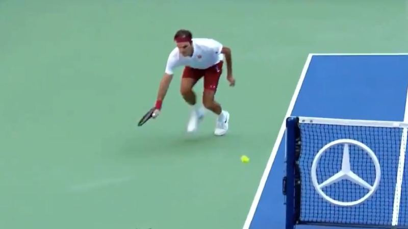 Tennis - US Open: Roger Federer réalise un coup hallucinant contre Nick Kyrgios