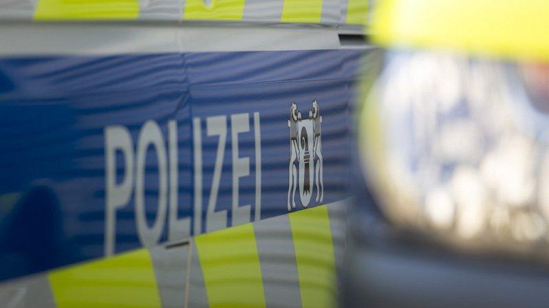 La police allemande a informé les collègues bâlois de l'incident.